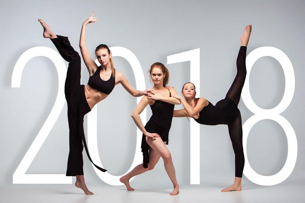 2018! De danslessen zijn weer begonnen