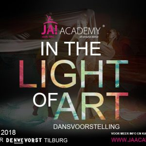 Dansvoorstelling In The Light of Art, zondag 3 juni