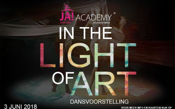 Dansvoorstelling In The Light of Art, zondag 3 juni