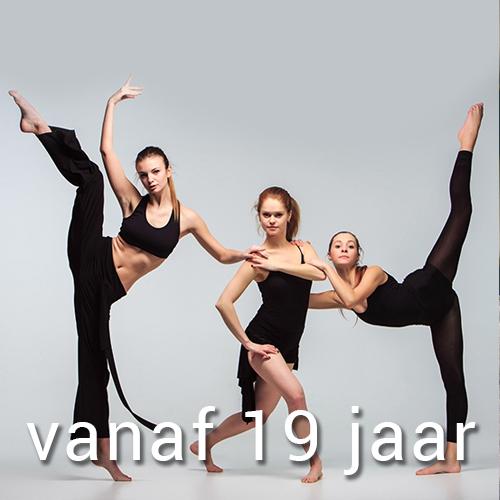 Klassiek, Jazz, Modern, Breakdance vanaf 19 jaar