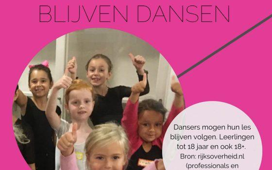 JA!Academy mag blijven dansen !